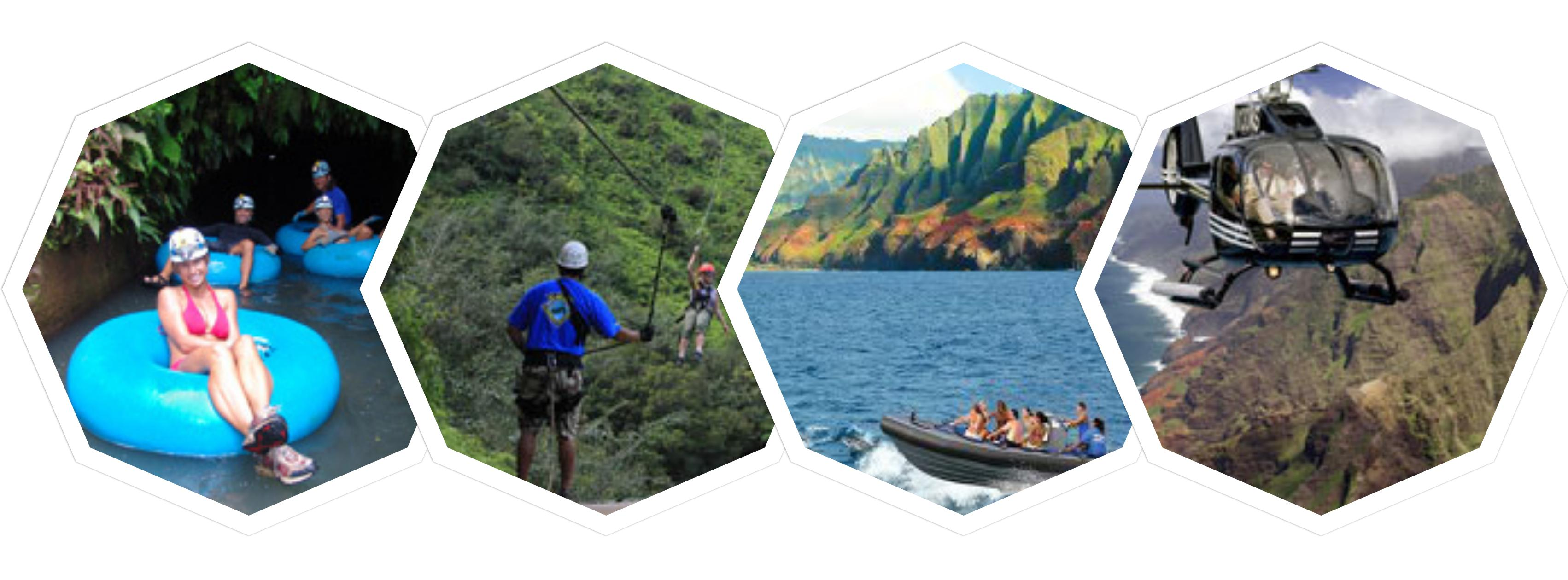 Tour & Activity Categories on Kauai