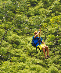 Zipline Tours on Maui