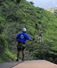 Zipline Tours on Kauai